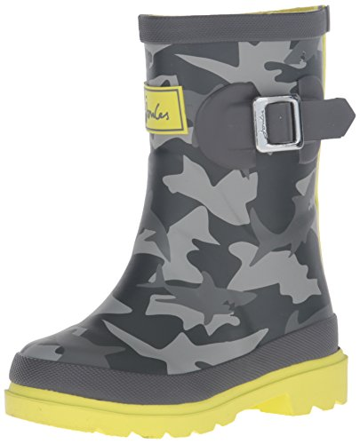 Boys Welly Rain Boot Shark Camo,