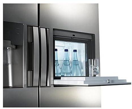Amerikanischer Kühlschrank Mit Fernseher : Samsung rs7778fhcslef side by side 353 kwhjahr 359 l kühlteil 184