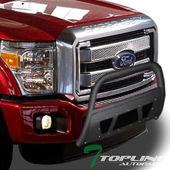 TAC Grill Guard for 2011-2016 Ford F250//F350 Super Duty Pickup Truck Black Front Brush Bumper Guard Push Guard Off Road Automotive Off Road Automotive Exterior Accessories