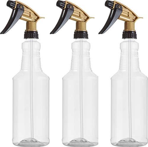- Bar5F Plastic Spray Bottles, 32 oz, Acid/Chemical Resistant Heavy Duty N11 Fully Adjustable Sprayer, Pack of 3