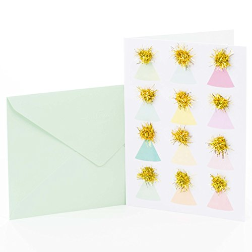 Hallmark Signature Birthday Card (Party Hats)