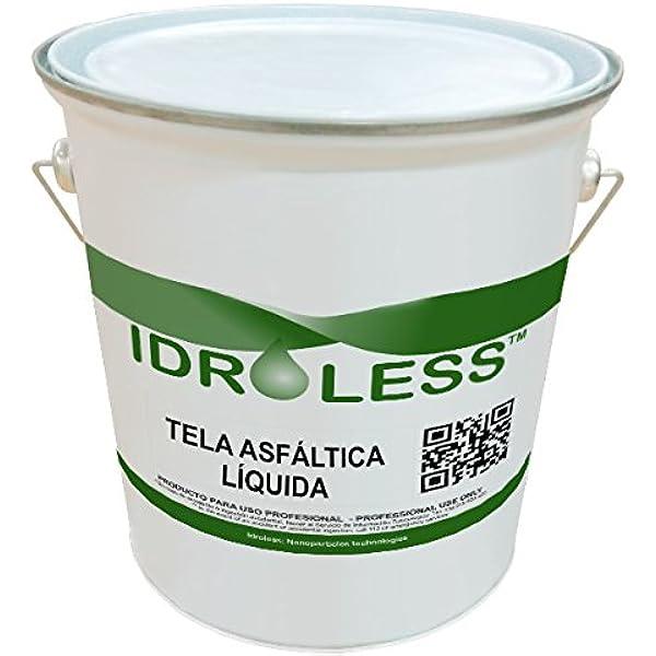 Tela Asfáltica Líquida - 4 kg: Amazon.es: Bricolaje y herramientas