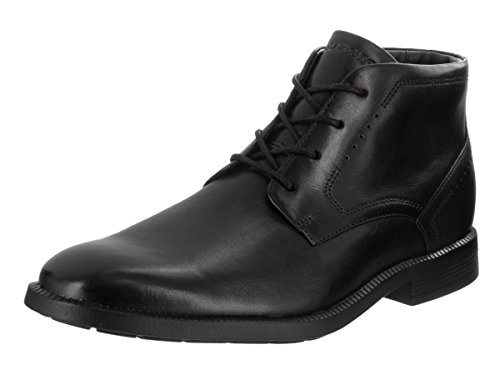 Rockport Men's Dressports Business Chukka Black Leather Boot 9 M (D) by Rockport