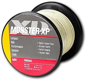 Monster Cable 20' Navajo White Speaker Wire by Monster