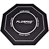 FlorPad Game Zone 45'' x 45'' Anti Floor Scratching Floor Mat | Water Repellent | Multiple Styles | Noise Cancelling | Smooth Surface