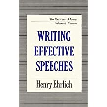 Writing Effective Speeches