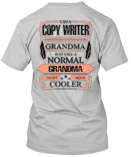 I Am A Copy Writer Grandma T Shirt, I Love Writer T Shirt-Unisex (XXL, Sport Grey)