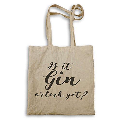 Divertida Es En De Funny Novedad It Ee68r Is Todavía Mano La Gin Tote Novelty O'clock Que Ginebra Ee68r Bolso Yet Punto Bag qa88SgwI