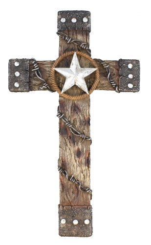 Rivers Edge Products 18-Inch Cross with Star And Barbed (Edges Stars)