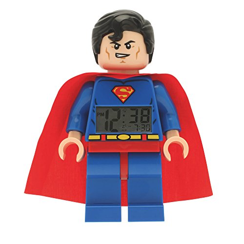 LEGO-DC-Super-Heroes-Reloj-despertador-con-figura-Superman-LEGO-9005701