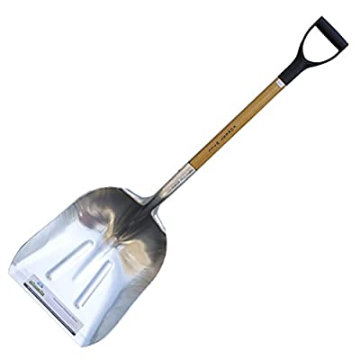 FOREST HILL Manufacturing Homeowner Aluminum Scoop Shovel