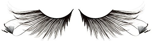 Zinkcolor Feather False Eyelashes F879 Dance Halloween Costume -