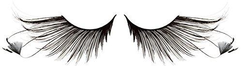 Zinkcolor Feather False Eyelashes F879 Dance Halloween Costume]()