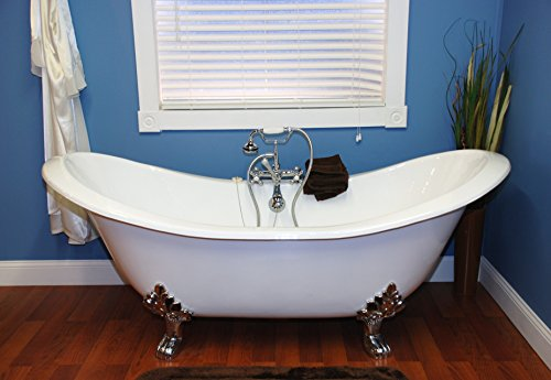 cast iron bathtub clawfoot - 8