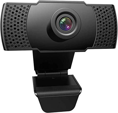 1080P Webcam with Microphone, FRIEET HD Streaming Web Camera, Plug and Play, Wide Angle USB Camera Compatible with PC…