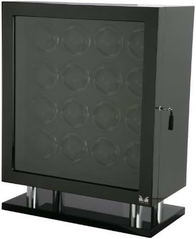 Volta 31-560160 Signature Series Sixteen (16) Carbon Fiber Watch Winder