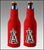 SET OF 2 LOS ANGELES ANGELS BOTTLE SUIT KOOZIES COOZIES