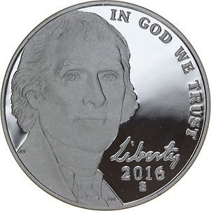 2016 S Jefferson Nickel Return to Monticello Proof GEM BU+