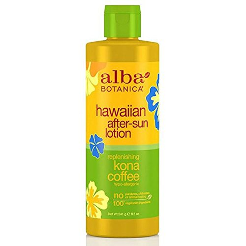 Alba Botanica - Hawaiian Kona Coffee After-Sun Lotion ( 2 - 8.5 Fz) (Alba Hawaiian After Sun Lotion Kona Coffee)