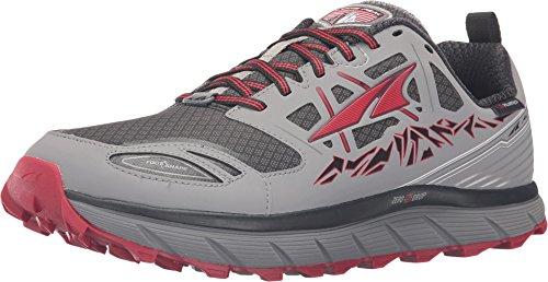 Altra Lone Peak 3.0 Neoshell Trail Running Shoe - Men's Gray/Red, 10.0