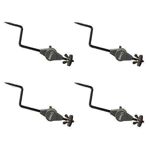 HME Products Economy Trail Camera Holder 4-Pack: Holds Any Trail Cam and Screws Into Trees