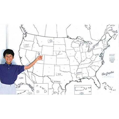Pacon PAC78760 United States Giant Map, 48