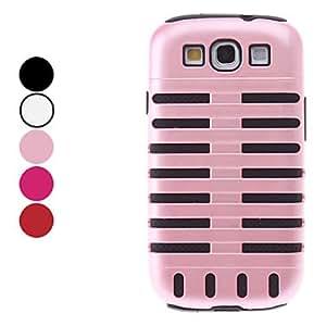 conseguir Diseño Beetle Case Desmontable múltiples capas de protección para el Samsung Galaxy S3 I9300 (colores surtidos) , Rosa