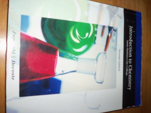 Introduction to Chemistry Santa Barbara City College 7th Edition
