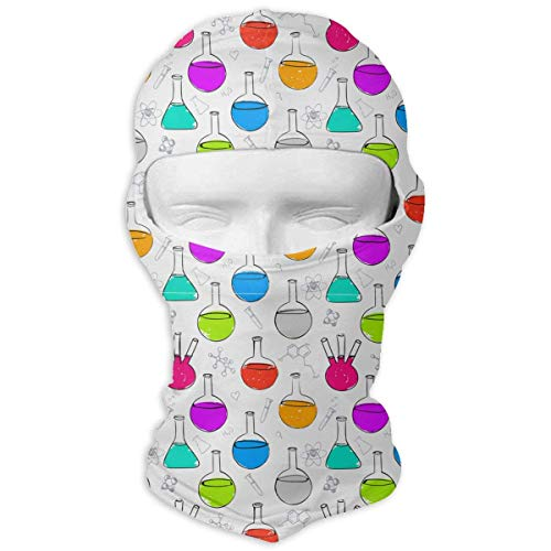 Cookisn balaclavas Neck Hood Full Face Mask Hat Sunscreen Windproof Breathable Quick Drying Alchemy Beaker Creature Flasks Men -