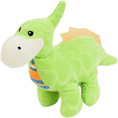Fuzzy Friends Plush Dinosaur Toy (Green)
