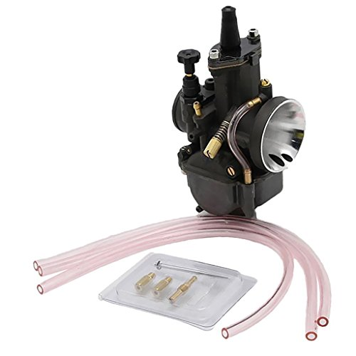 PWK 30 mm Carburetor with Power Jet for Keihin OKO Scooter ATV Quad Honda ()