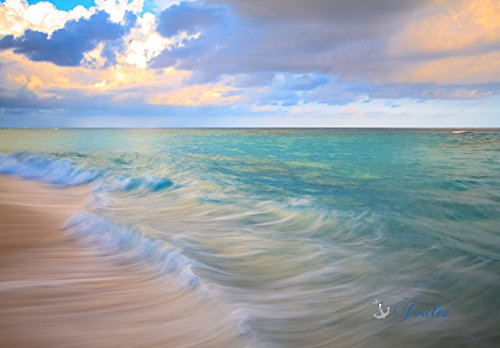 Fine Art CanvasBeautiful BermudaLong Bay BeachBermuda