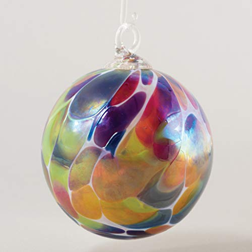 Glass Eye Studio Classic Ball Ornament Cornucopia