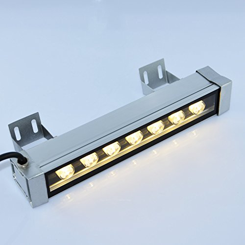 RSN LED Linear Bar Light Wall Washer 7W 3000K Warm White Color Stage Lighting Aluminum Alloy IP65 Waterproof