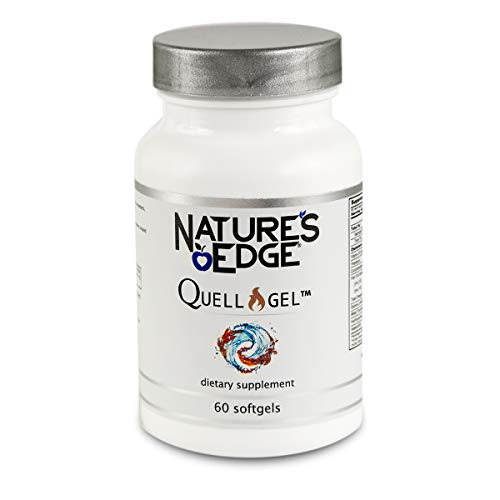 Nature's Edge® Quell-Gel™ Natural Anti-Inflammatory Supplement [60 Softgels] | Proprietary Formula, Highly Bioavailable & Lab Tested | Omega-3,Vitamin D3, Curcuminoids,Tocotrienols,Organic Hemp & More