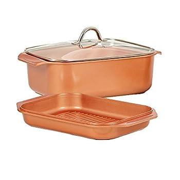 Copper Chef Multi-Use Roasting Pan