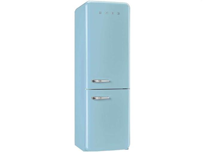 Smeg FAB32RAZN1 Independiente 321L A++ Azul nevera y congelador ...