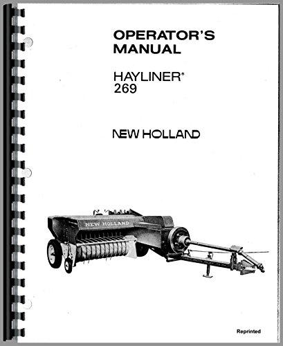 New Holland 269 Hayliner Baler Operators Manual