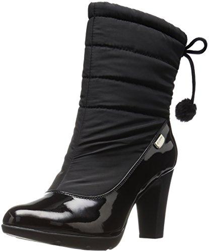 Anne Klein Sport Xhale Women US 5 Black Winter Boot