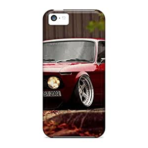 Awesome Bmw Vintage Flip Case With Fashion Design For Iphone 5c