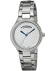 Stuhrling Original Women's 683.01 Symphony Swiss Quartz Stainless Steel Link Bracelet Watch