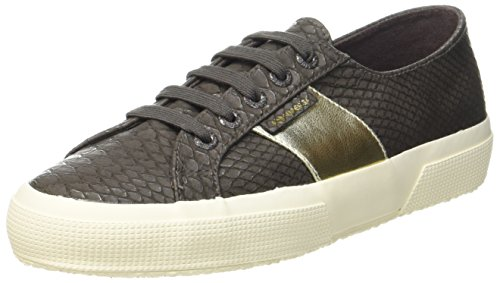 Damen Sneaker Pusnakew Superga Braun Brown Coffee 2750 xRBdwS