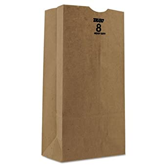 Amazon.com: Duro Bolsa bolsas de papel kraft, Heavy Duty ...