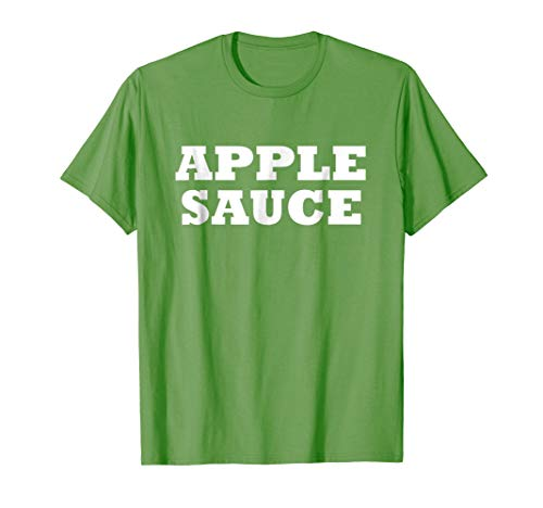 Apple Sauce Food Halloween Costume Party Funny T -