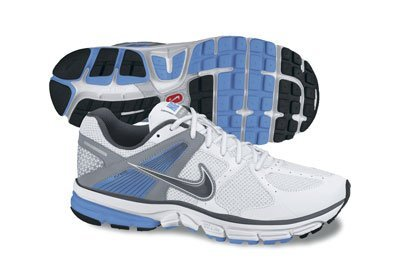Nike Wmns Nike Zoom-structuur + 14 (smal) (dames) Wit / Universiteitsblauw / Stealth / Donkergrijs