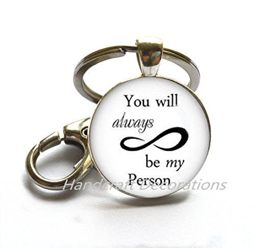 You will always be my person Bracelet Infinite love Bracelet my person Bracelets forever love Bracelet infinity symbol jewelry gift for wife.F184
