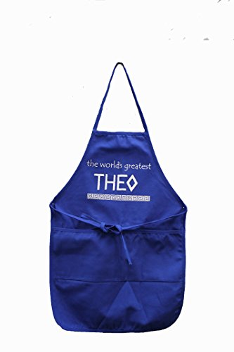 Greek Uncle  Theo  Apron