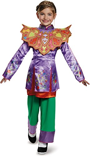 Alice Asian Look Classic Alice Through The Looking Glass Movie Disney Costume, Small/4-6X