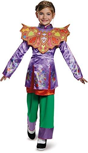 Alice Asian Look Classic Alice Through The Looking Glass Movie Disney Costume, Medium/7-8