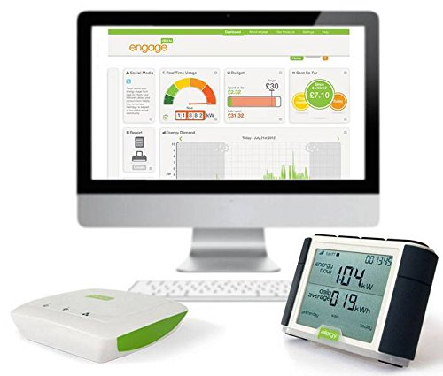 Pack Efergy Elite + Engage Hub. Monitor energí a consumo elé ctrico + gestió n internet